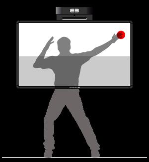 Softboard - active focus area – upper half