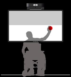 Softboard - active focus area – lower half