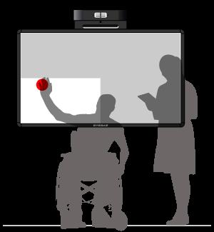 Softboard - active focus area – lower left side