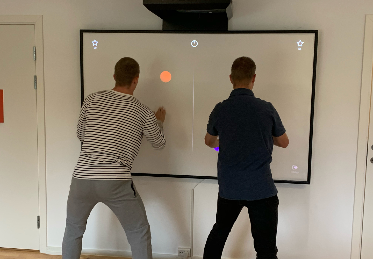 Client training on the EYEBAB Softboard